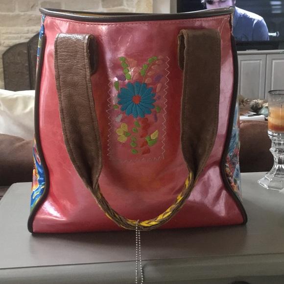 Consuela Bags Pink Tote Bag Poshmark